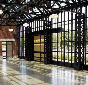 Interior of Northbank Pavilion